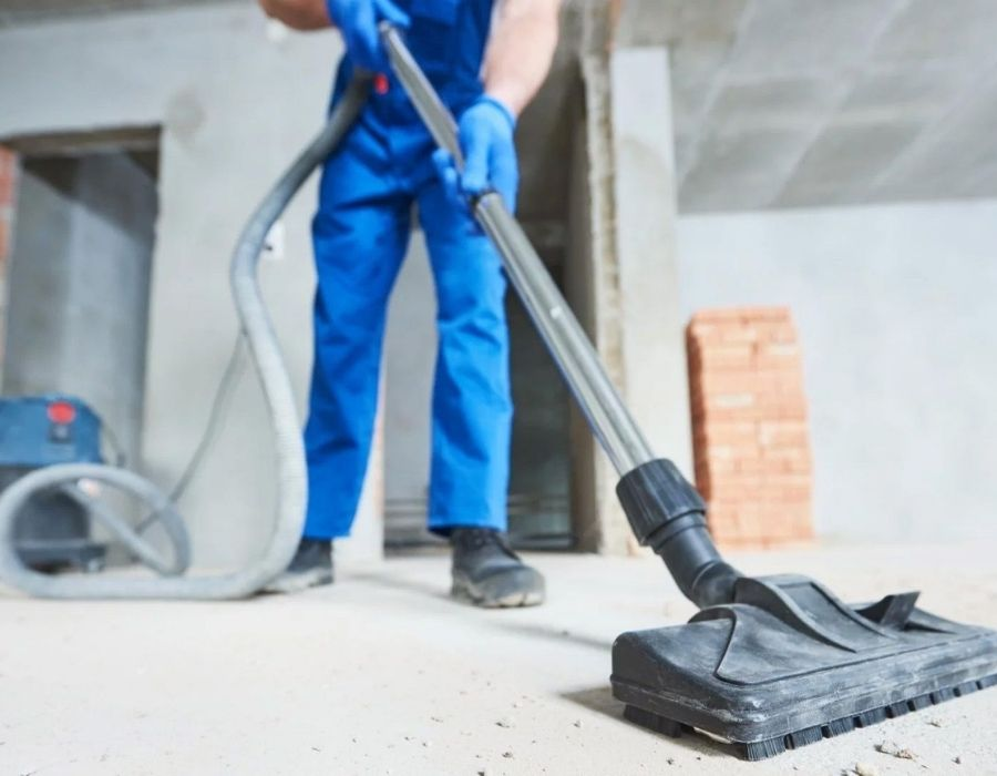 construction clean up services in Des Moines